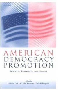 american democracy promotion g john ikenberry paperback cover art