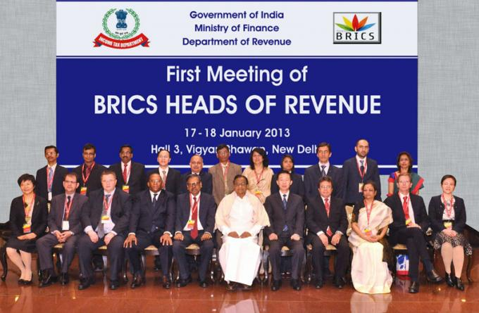 First Meeting of BRICS Heads of Revenue
