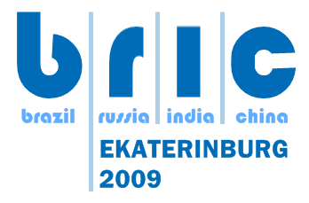 1st BRIC summit logo