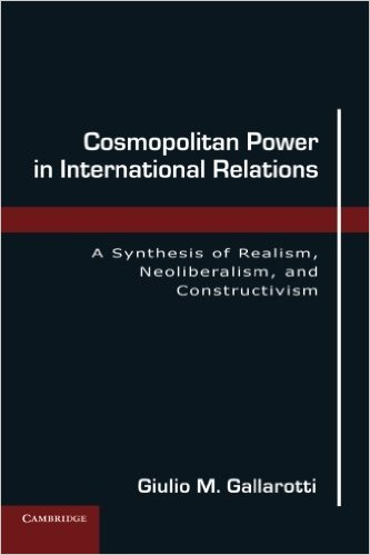 Book Review Cosmopolitan Power In International Relations By