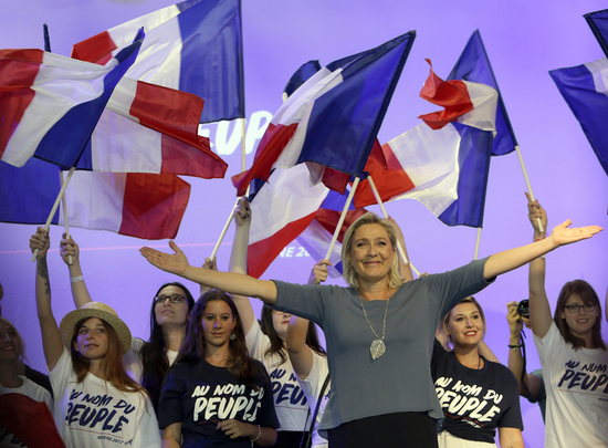 ap marine le pen french presidential election 2017